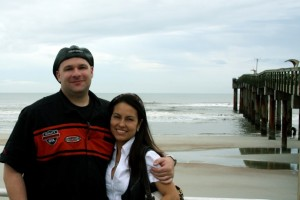 Fred and Yeni in St Augustine