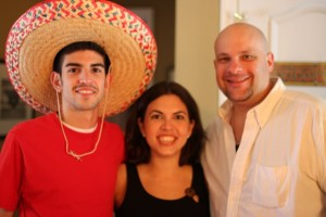 Fred Joey and Genie at Cinco de Mayo