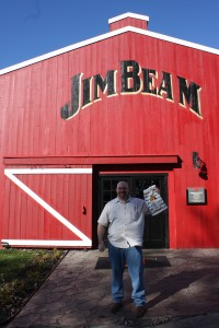 Fred visits Jim Beam in Kentucky