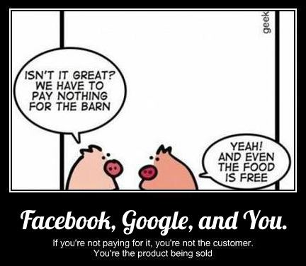 Google, Facebook, and You