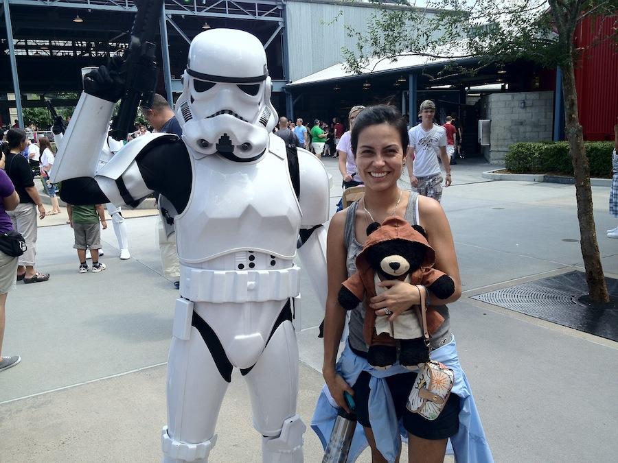 Stormtrooper, Esposa, Jedi Bear