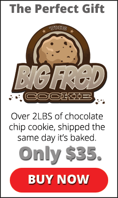 Please try a Big Fred Cookie