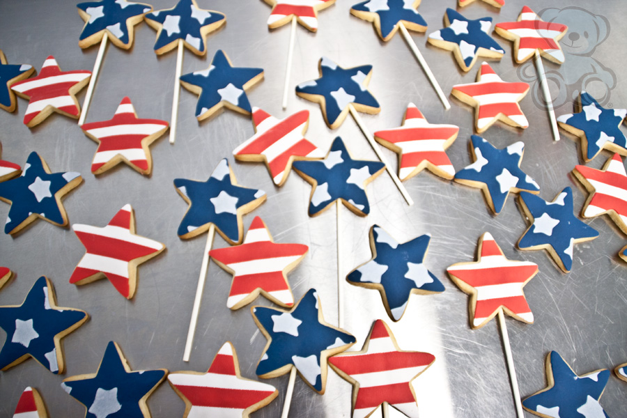USA Cookies from Dream Day Cakes and Bearkery