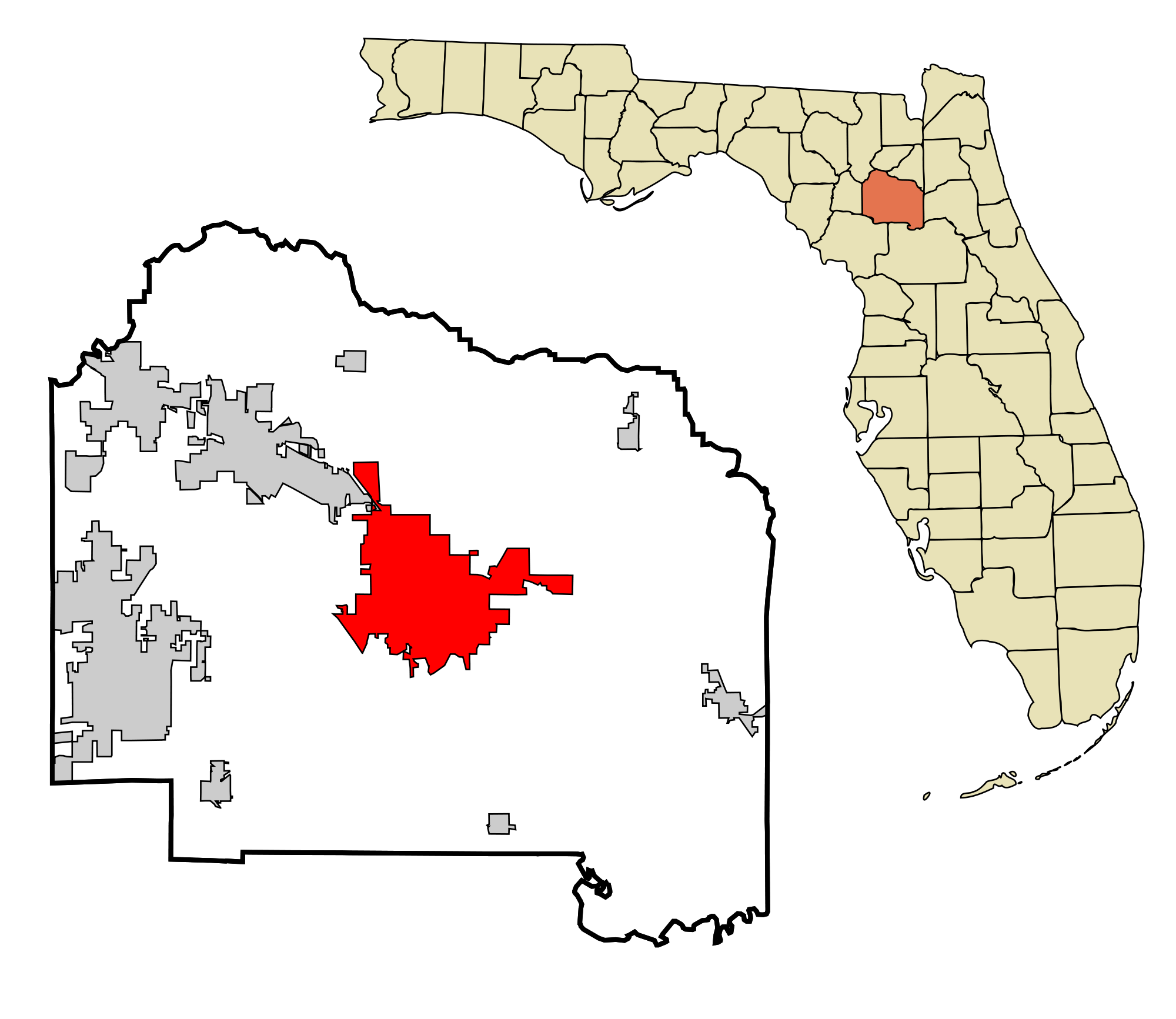Gainesville, Florida and Alachua County