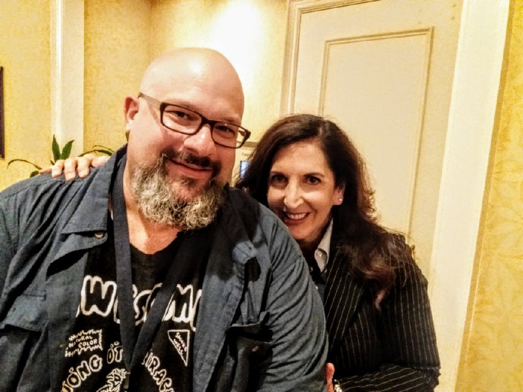 Fred and Allison at AstriCon 2017