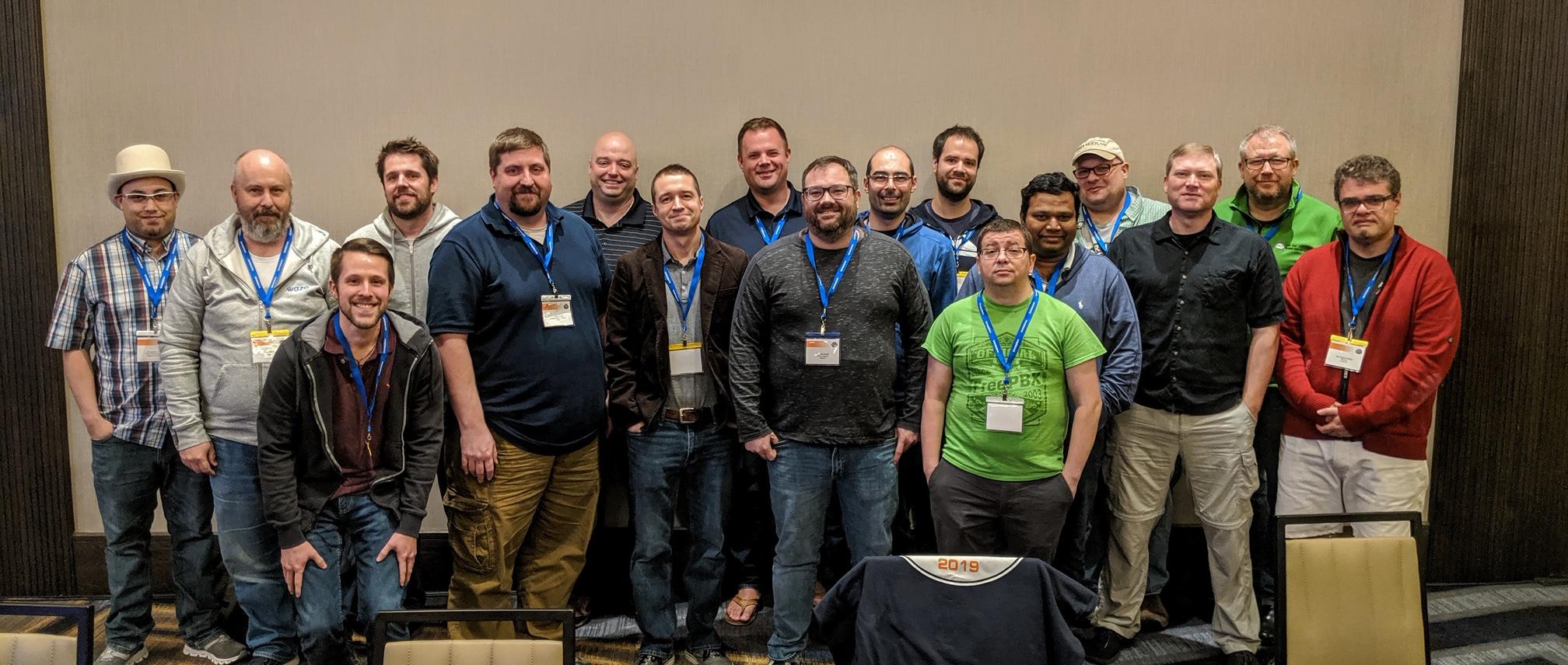 AstriDevCon 2019 participants